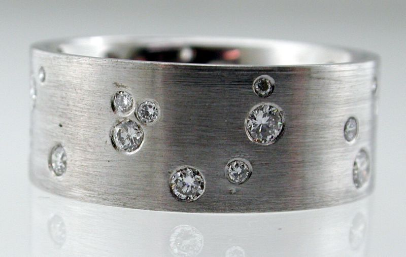 Diamond Sprinkle Ring