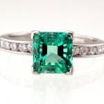 Emerald Tutti Frutti ring