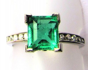 Emerald Tutti-Frutti ring