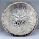 Silver Bee Plate