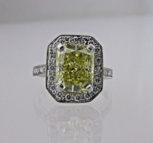 Yellow Diamond Ring Remodeling