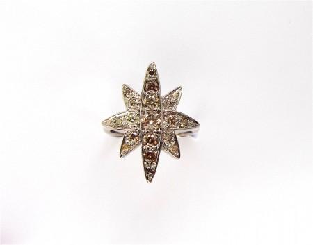 Blazing glory star ring
